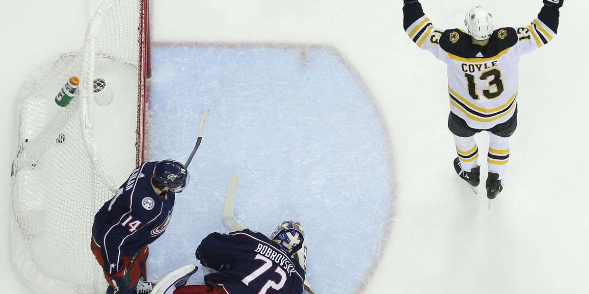 Bruins put away Blue Jackets to advance to conference final