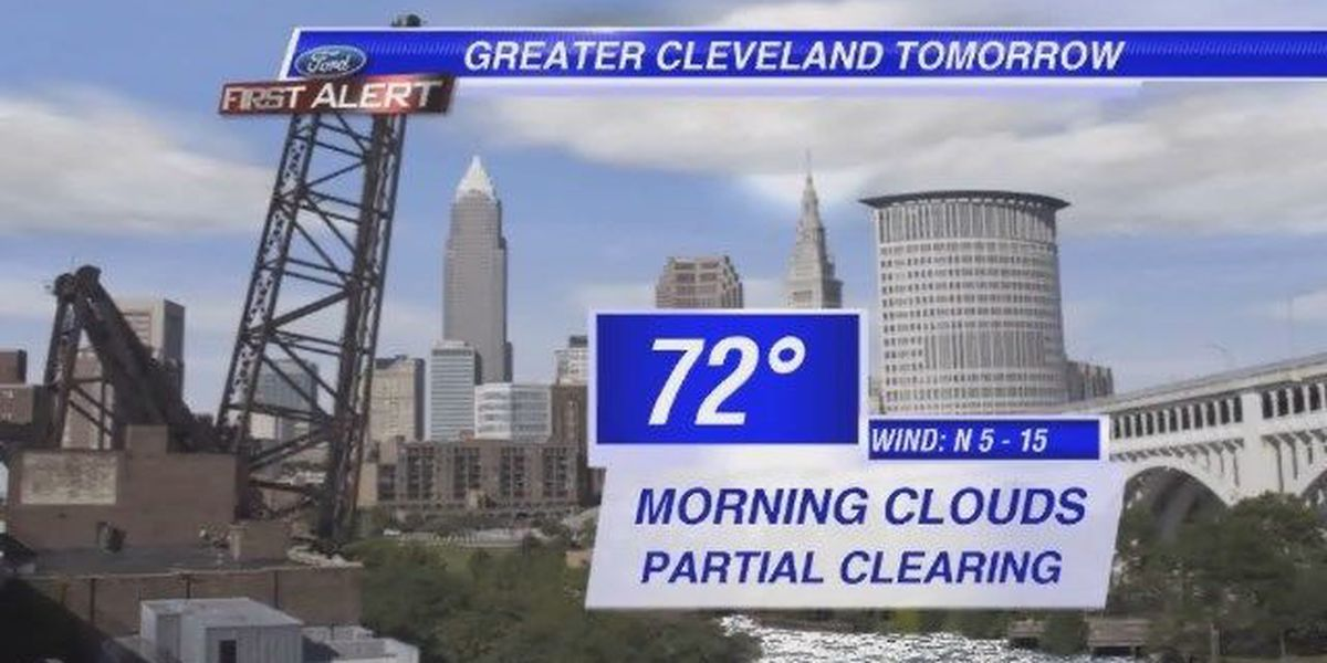 Forecast: Widespread evening showers and storms for Tuesday