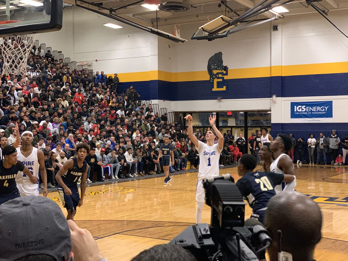 Spire Institute blows by Garfield Heights behind LaMelo Ball triple-double