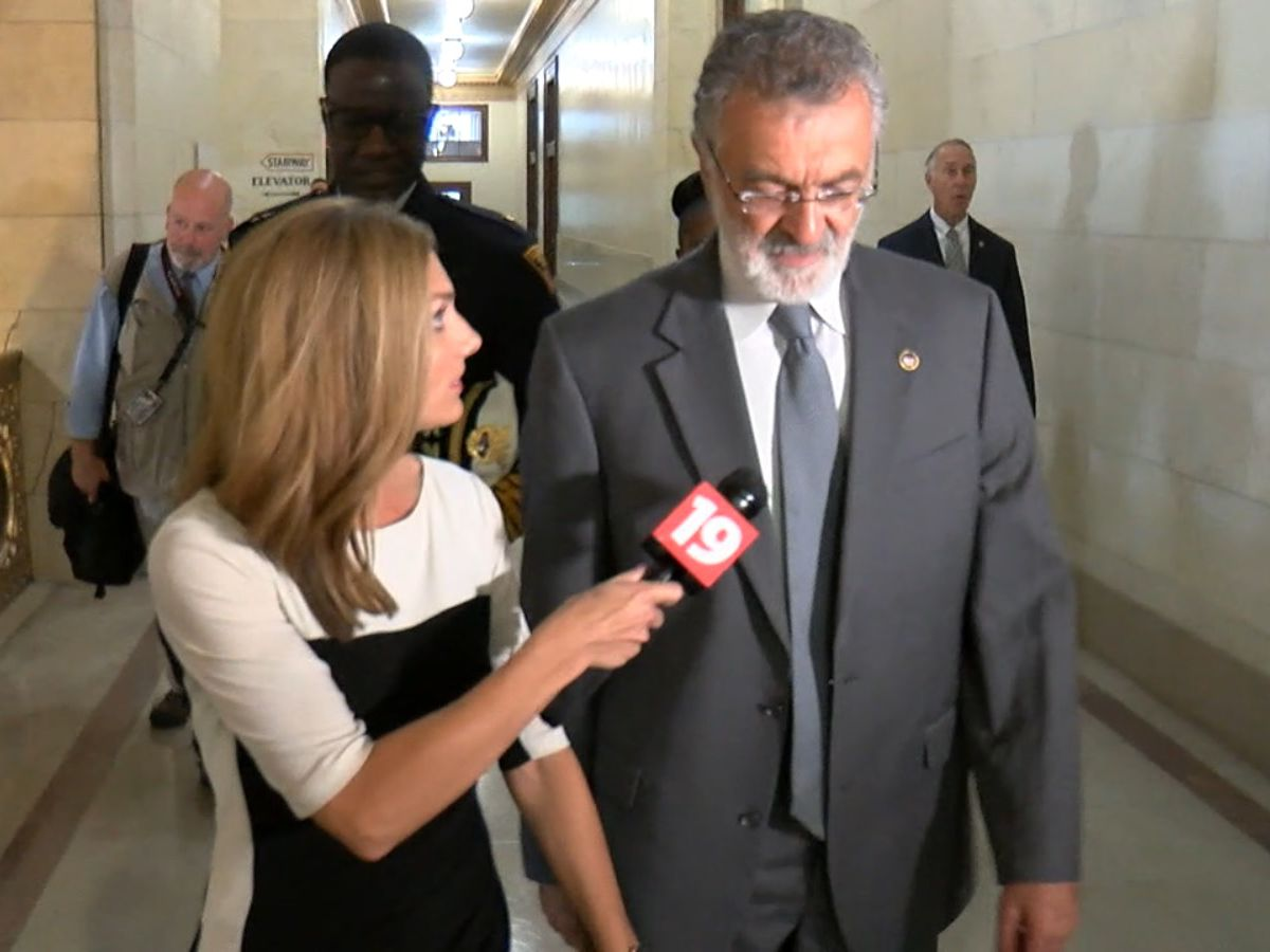 Cleveland Mayor Frank Jackson responds to ethics questions regarding homicide investigation involving grandson (video)