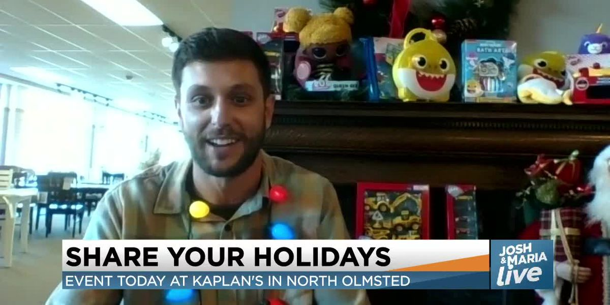 Josh and Maria talk with Kaplan's furniture on how you can Share Your Holidays