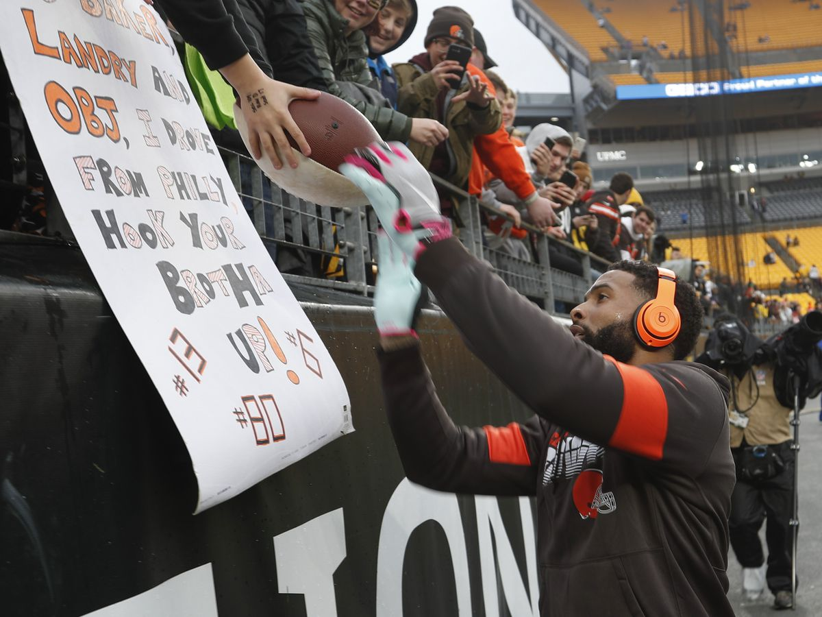 Odell Beckham Jr. clarifies remarks about future with Browns: 'I never said I was not happy in Cleveland'