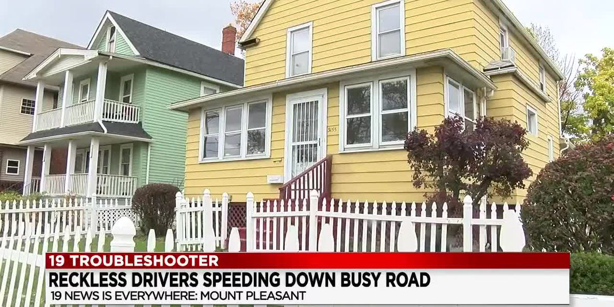 Speeders along a stretch of Cleveland's E. 116th Street making the lives of some residents dangerous