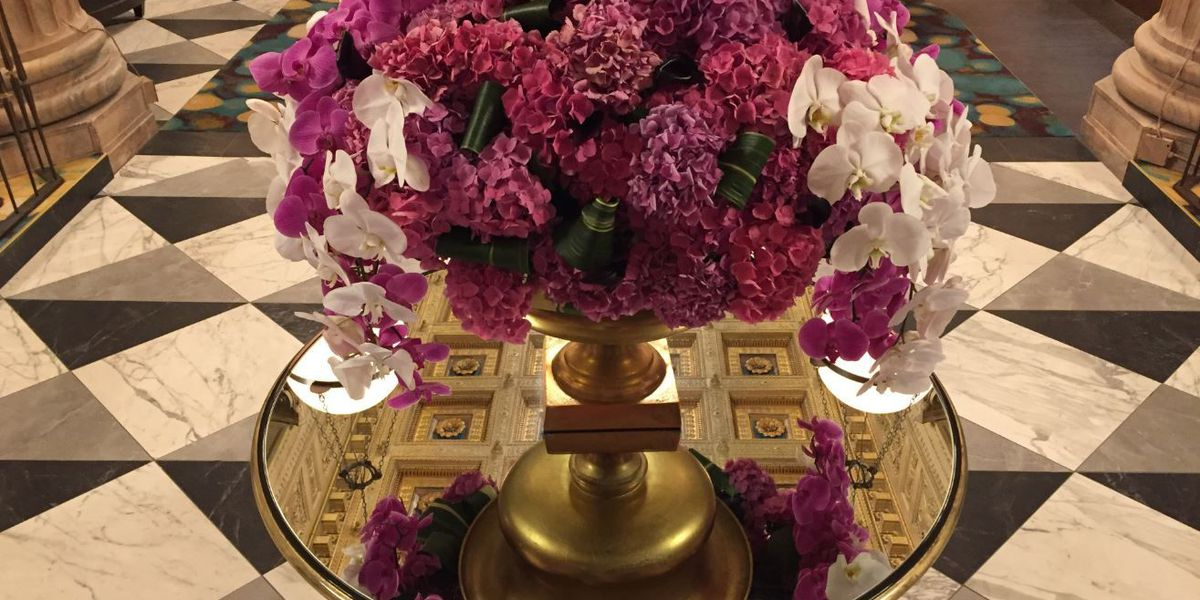 See the Kardashian approved flowers at Cleveland's new Marble Room