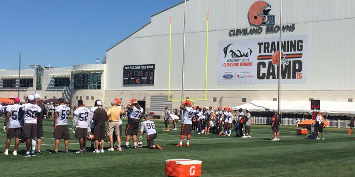 LOOK HERE: Cleveland Browns training camp begins next month