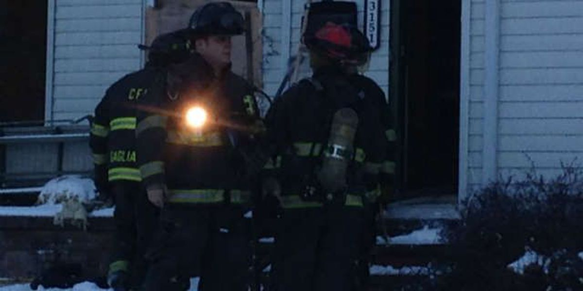 Family cat rescued in Cleveland house fire