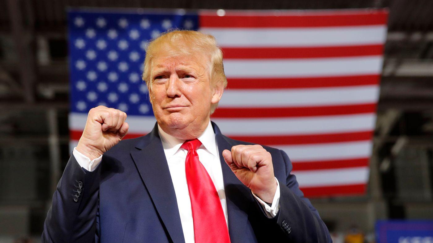 Trump slams congresswomen; crowd roars, 'Send her back!'