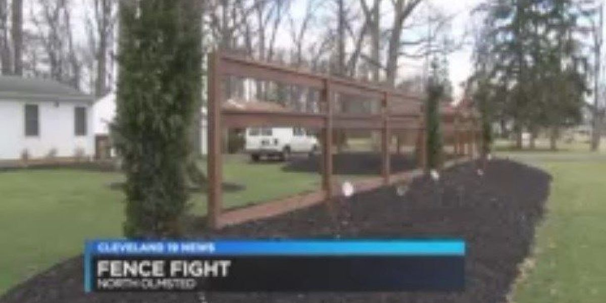 North Olmsted wants homeowner to tear down front-yard fence