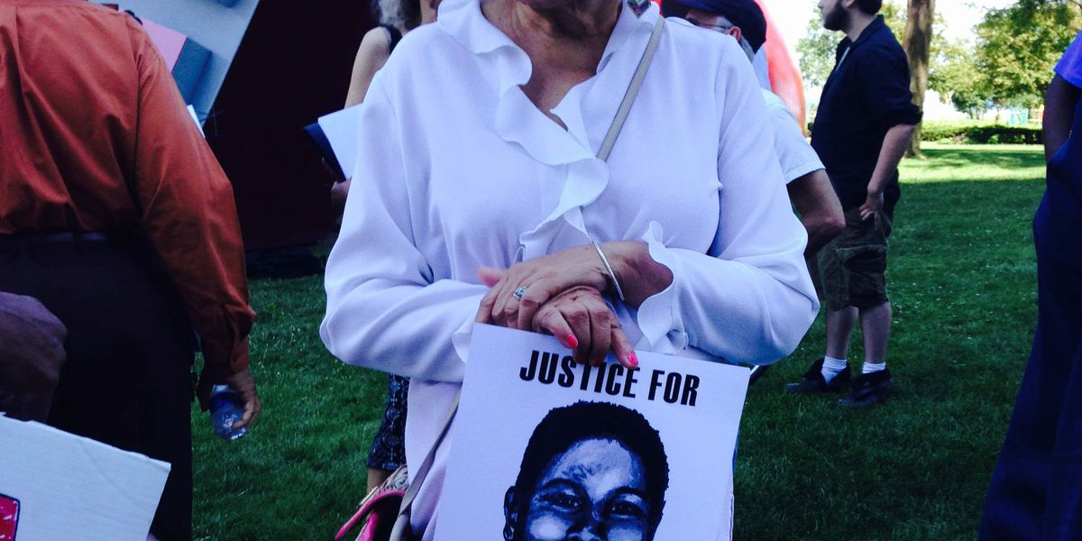 Tamir Rice supporters march to demand charges against officers