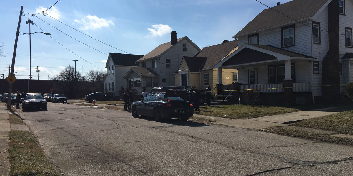 Homeowner kicked down stairs, shot multiple times on Cleveland's East side