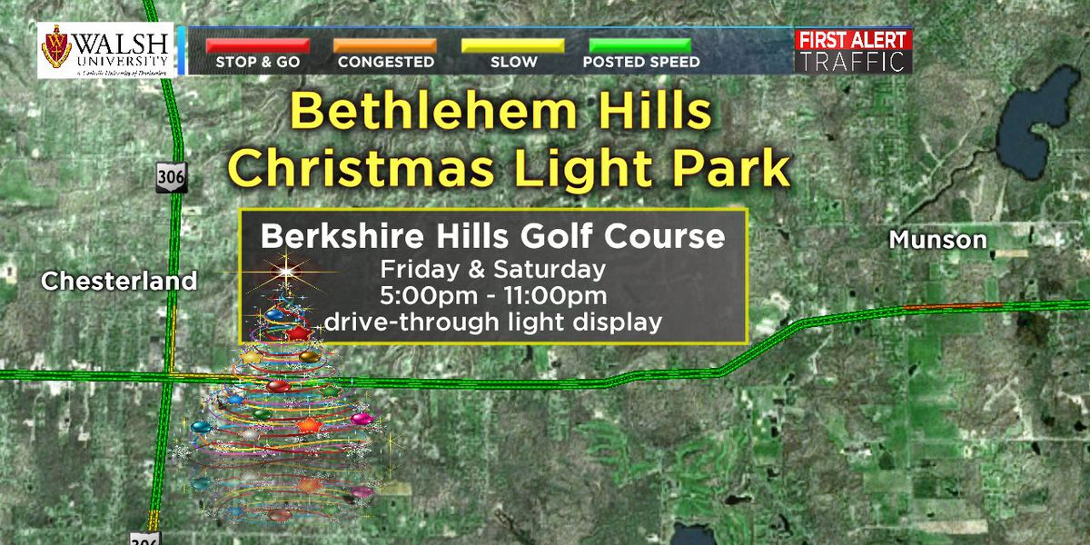 Christmas lighting ceremonies tie up traffic in The Land