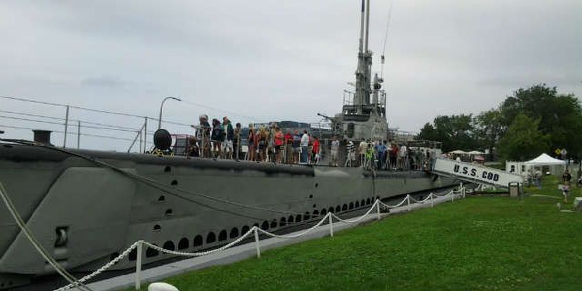 Halloween tours Oct. 18 & 19 on Cleveland's submarine, the USS Cod