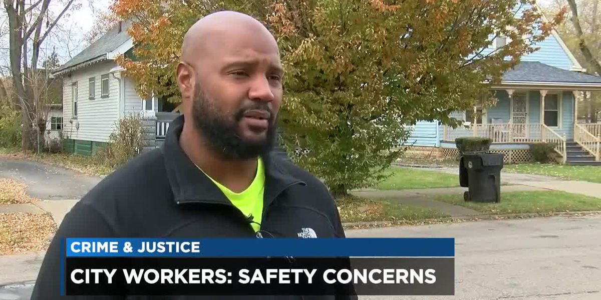 Cleveland sanitation workers say they frequently fear for their lives