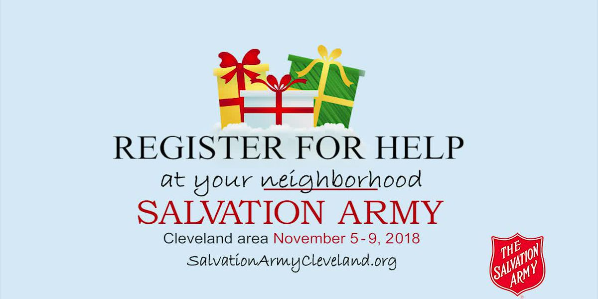 Salvation Army ~ 2018 Assistance Registration