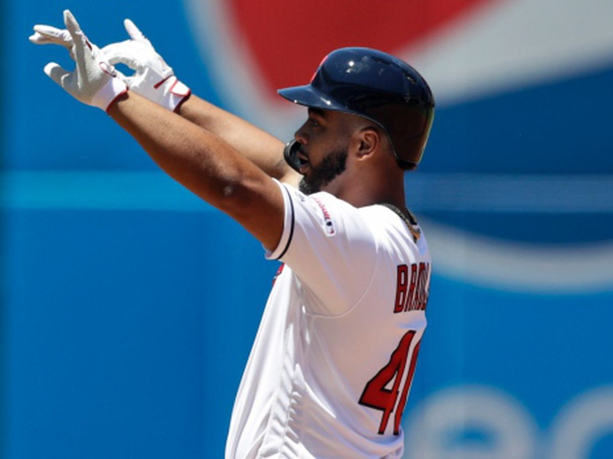 Bradley has RBI double in debut, Indians top Tigers 8-3