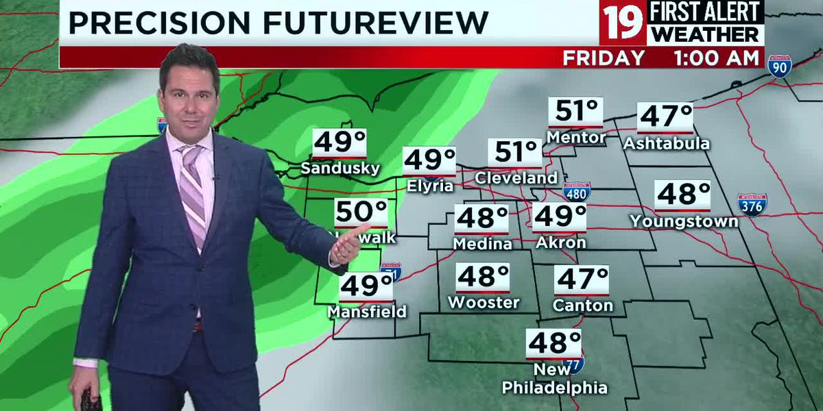 Northeast Ohio weather: Warming trend on the way