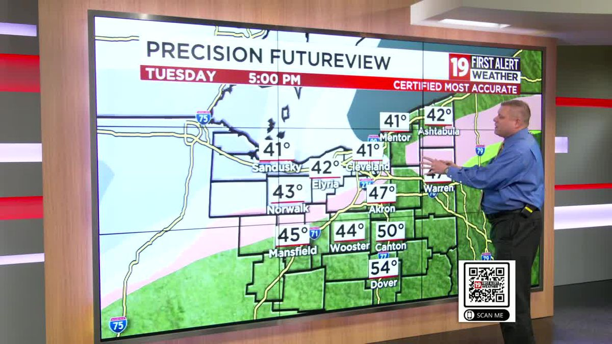 FIRST ALERT: April snowstorm on the way tonight