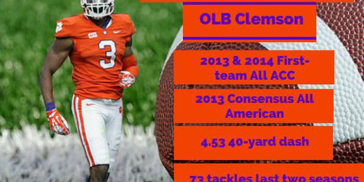 outlet store 4967e 3eb30 2015 NFL Draft, player profile: Vic Beasley