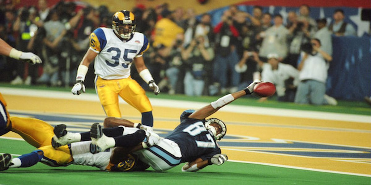 Best Super Bowl play ever? Tony Z welcomes former Rams LB Mike Jones, who made that legendary tackle in 2000