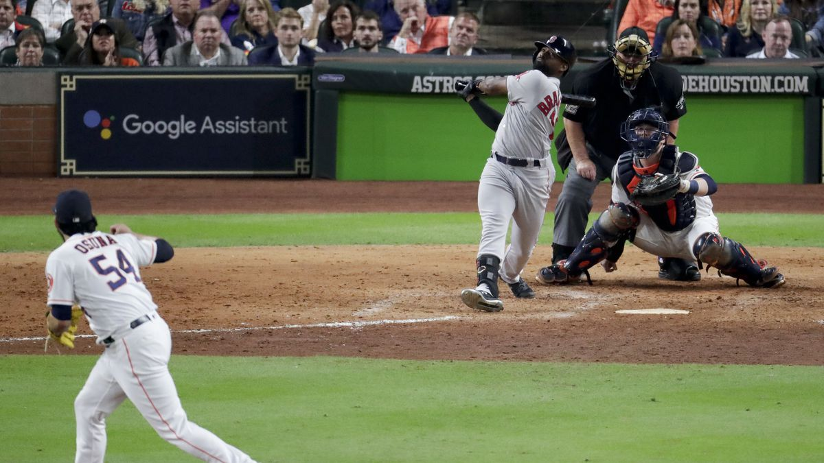 Astros staff ejected from Indians, Red Sox games over suspicious activity