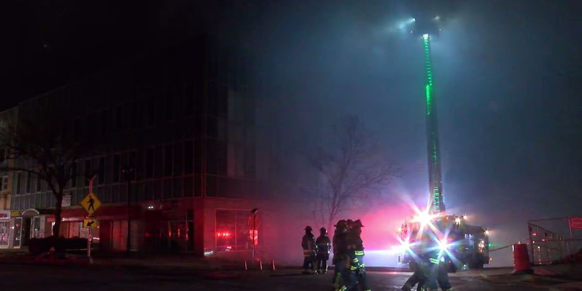 Commercial building in downtown Elyria demolished after overnight fire