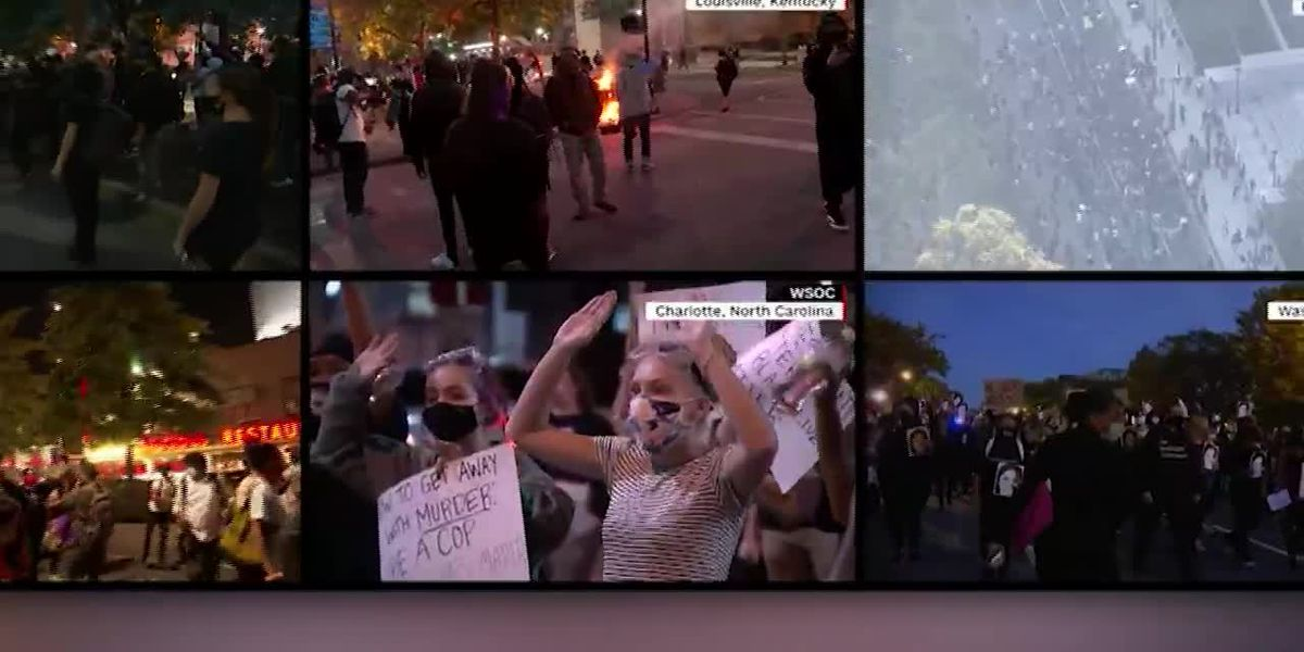 Cities brace for another night of potential protests