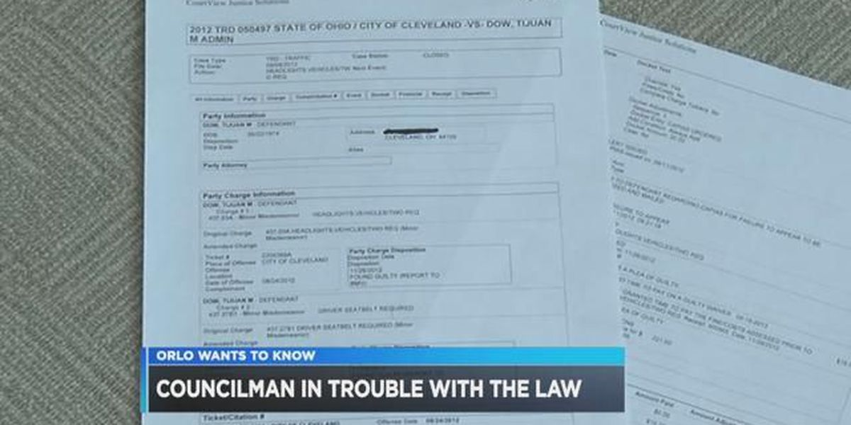 Arrest warrant issued for Cleveland City Council member
