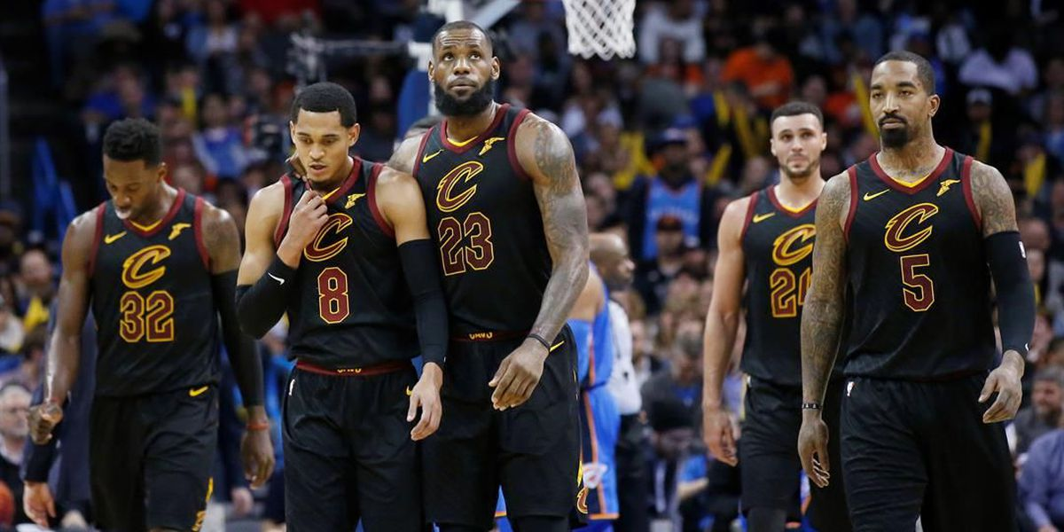 James' 37 lead new-look Cavaliers past Thunder 120-112
