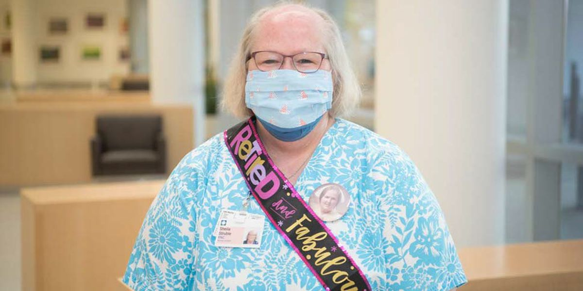 NICU nurse celebrates retirement after 45 years at Fairview Hospital