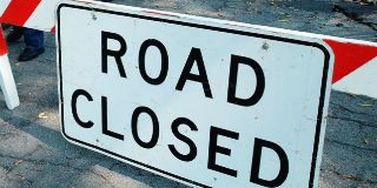 Lorain County sink hole causes road closure