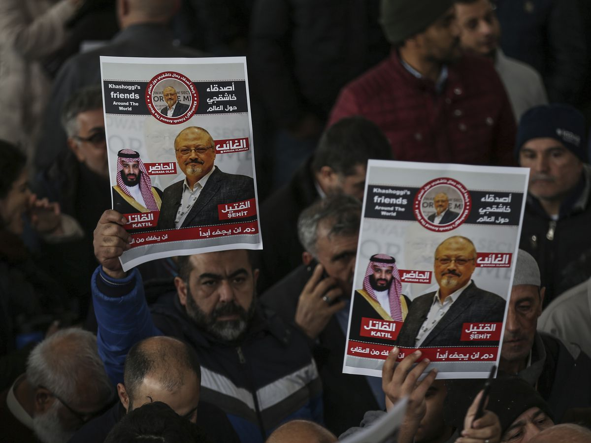 US official: US intel says prince ordered Khashoggi killing