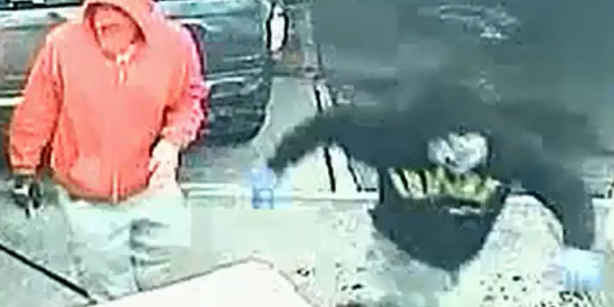 Robbers crash van through Akron Circle K and make off with ATM (video)