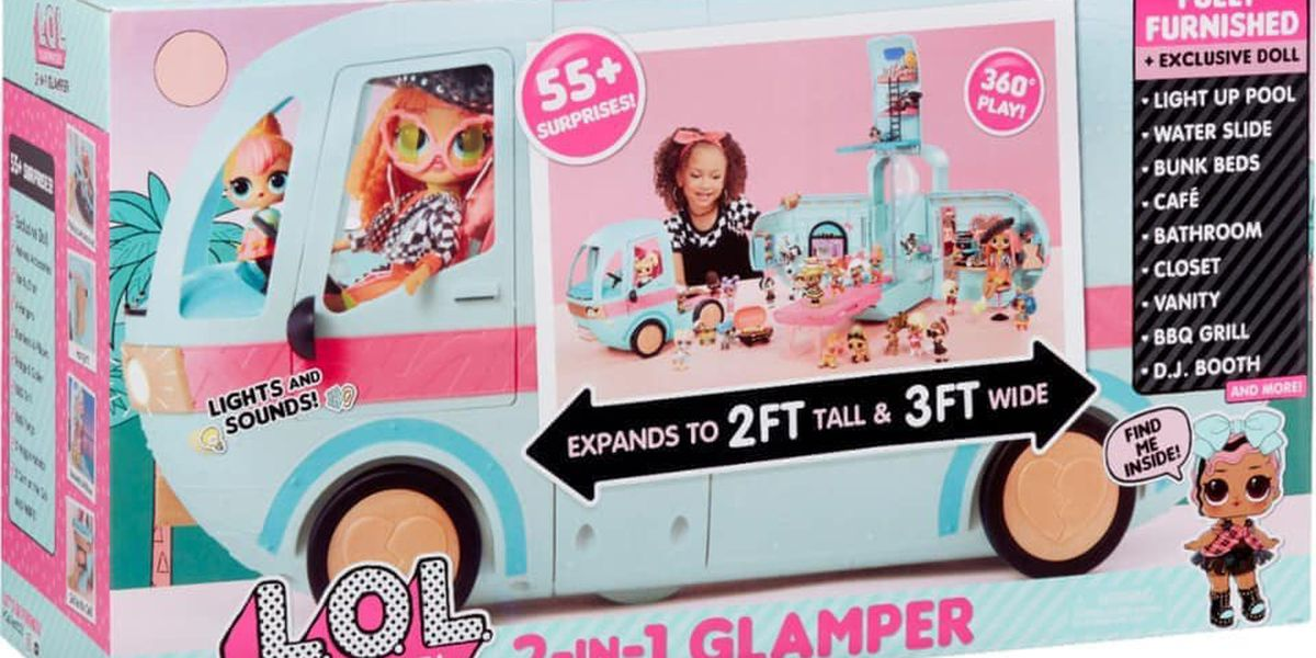 L O L Surprise Glamper Modified After Child Injury Reports