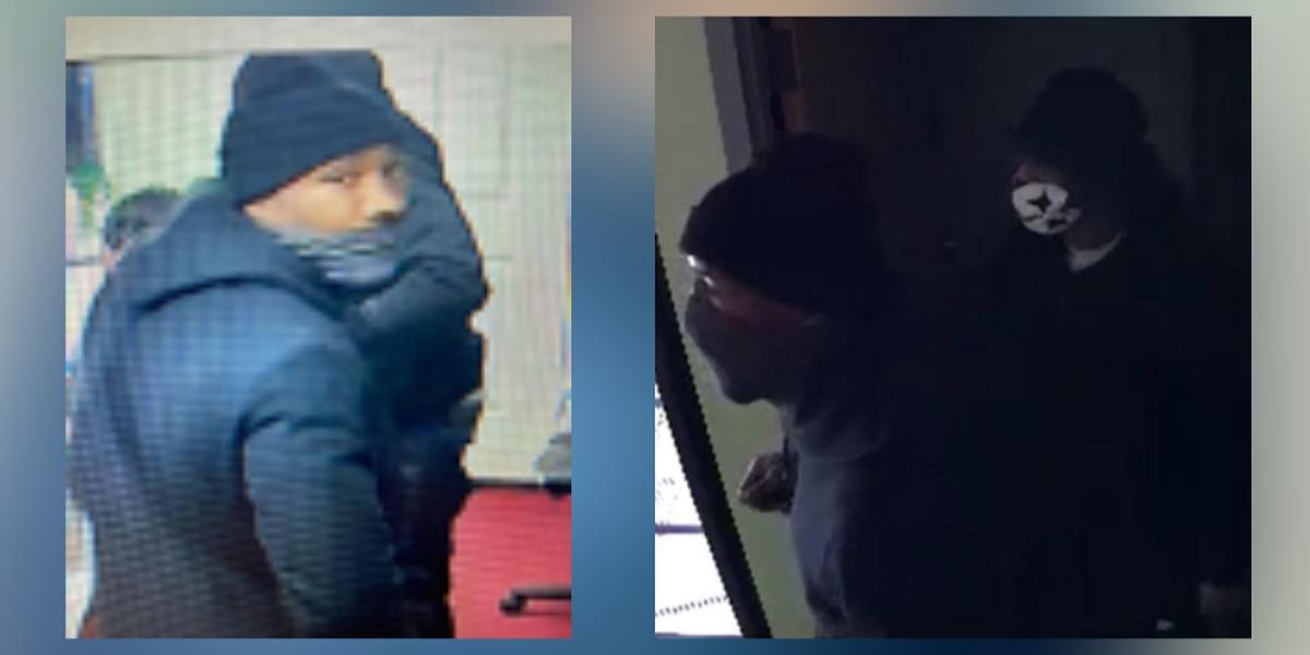 Two men rob Akron food store at gunpoint