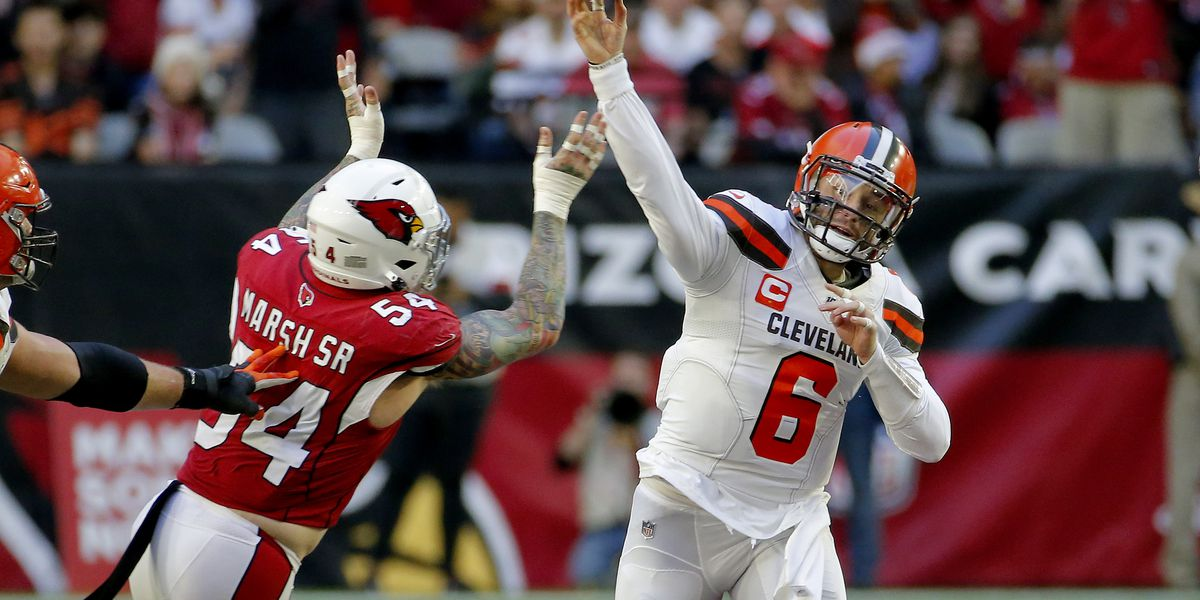 Browns lose to the Cardinals 38-24 in a must-win game; Jarvis Landry and Freddie Kitchens exchange words on the sideline