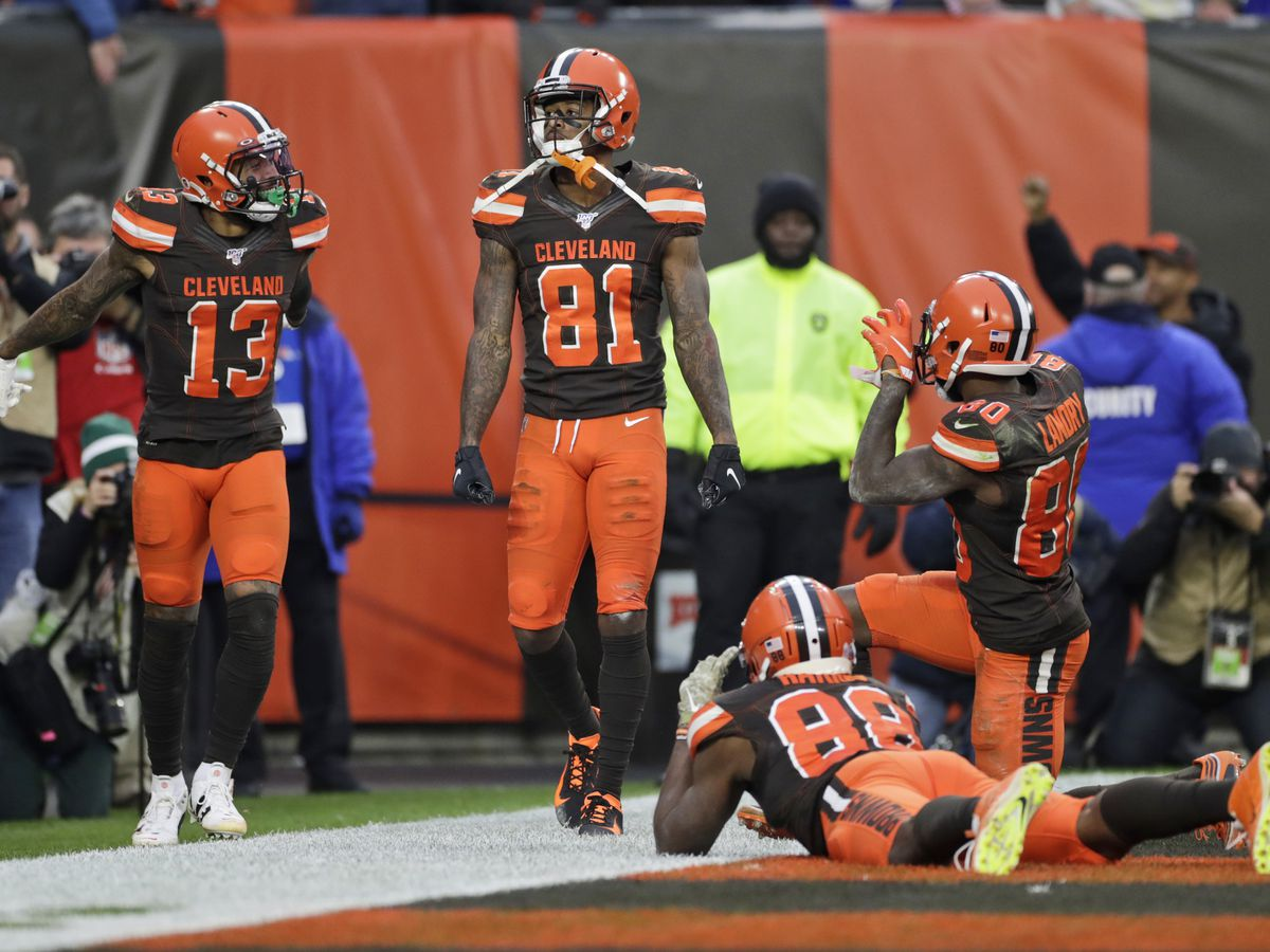 Browns hold off Bills 19-16 to end 4-game slide