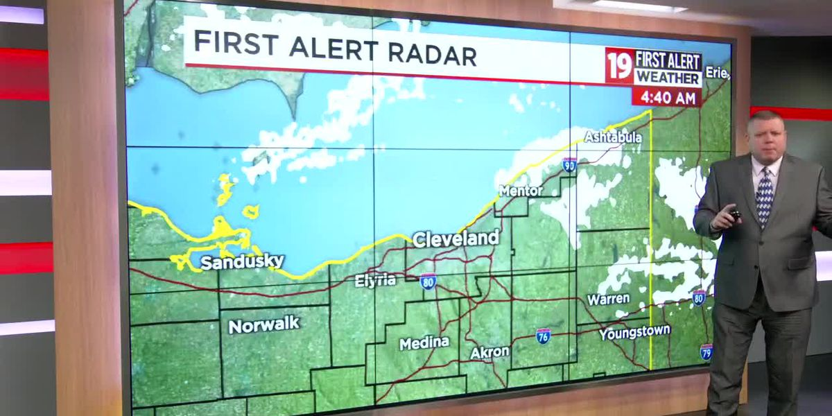 Northeast Ohio weather: Lake effect snow on the docket through tonight, be careful out there
