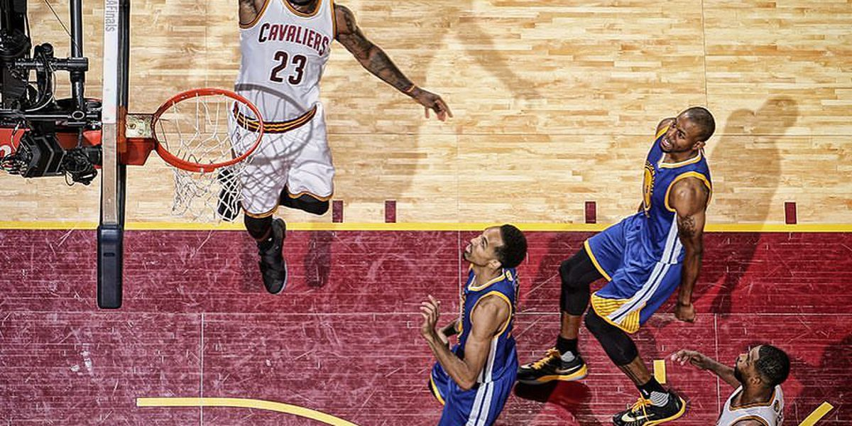 Flashback: Game 3 of the 2016 NBA Finals