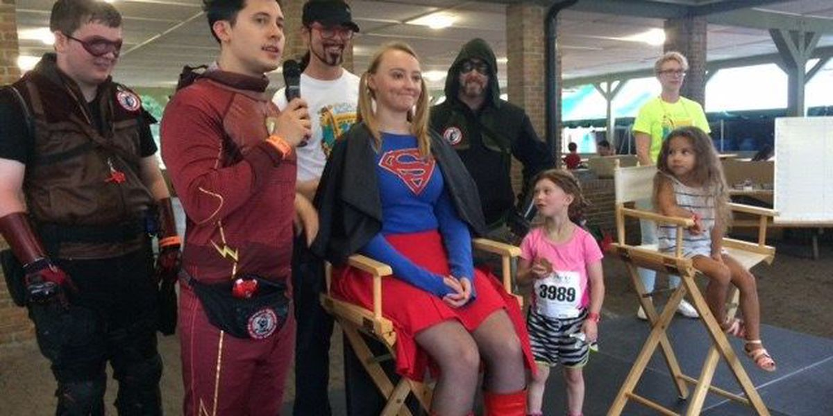 "Local ""Supergirl"" chops pigtails at Wigs for Kids fundraiser"