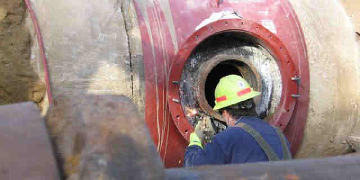 UPDATE: Water main break repairs complete