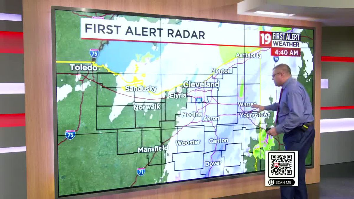 FIRST ALERT: Snowy morning turns into cold, windy day with winter mix