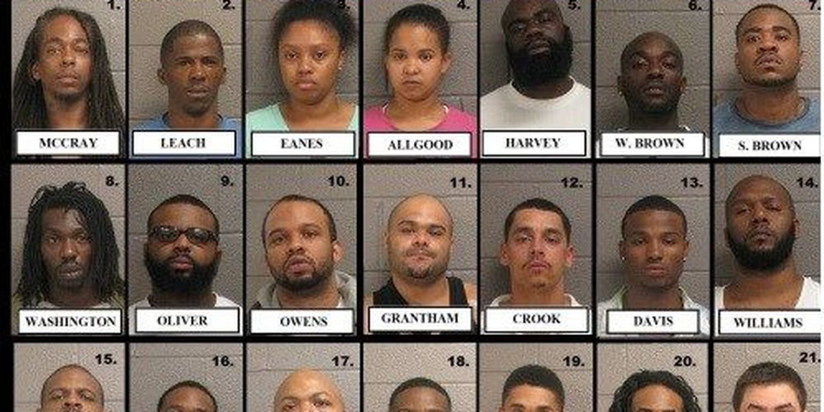 Police make 21 arrests as part of Operation Sundown