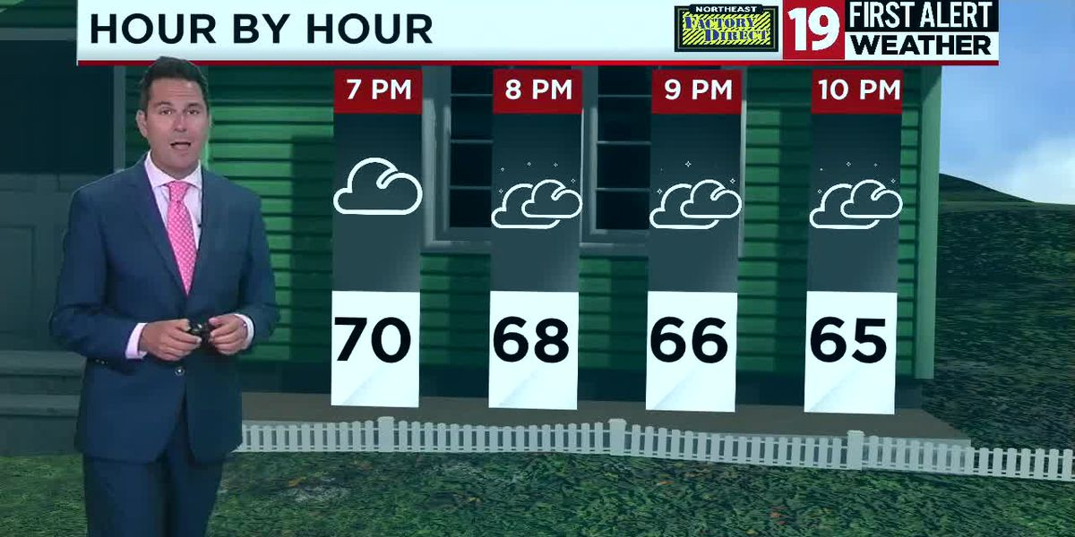 Northeast Ohio weather: Cooler air and a few showers on Thursday night