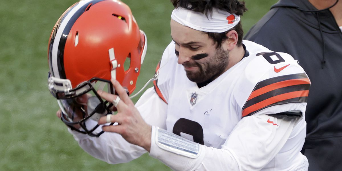 Dad tells his sons Baker Mayfield was traded to Steelers as part of April Fools' Day prank (video)