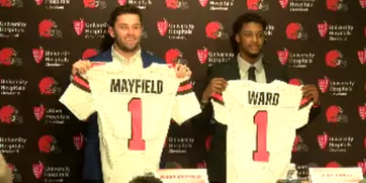 Baker Mayfield says not being the Browns starter right away will be great for him