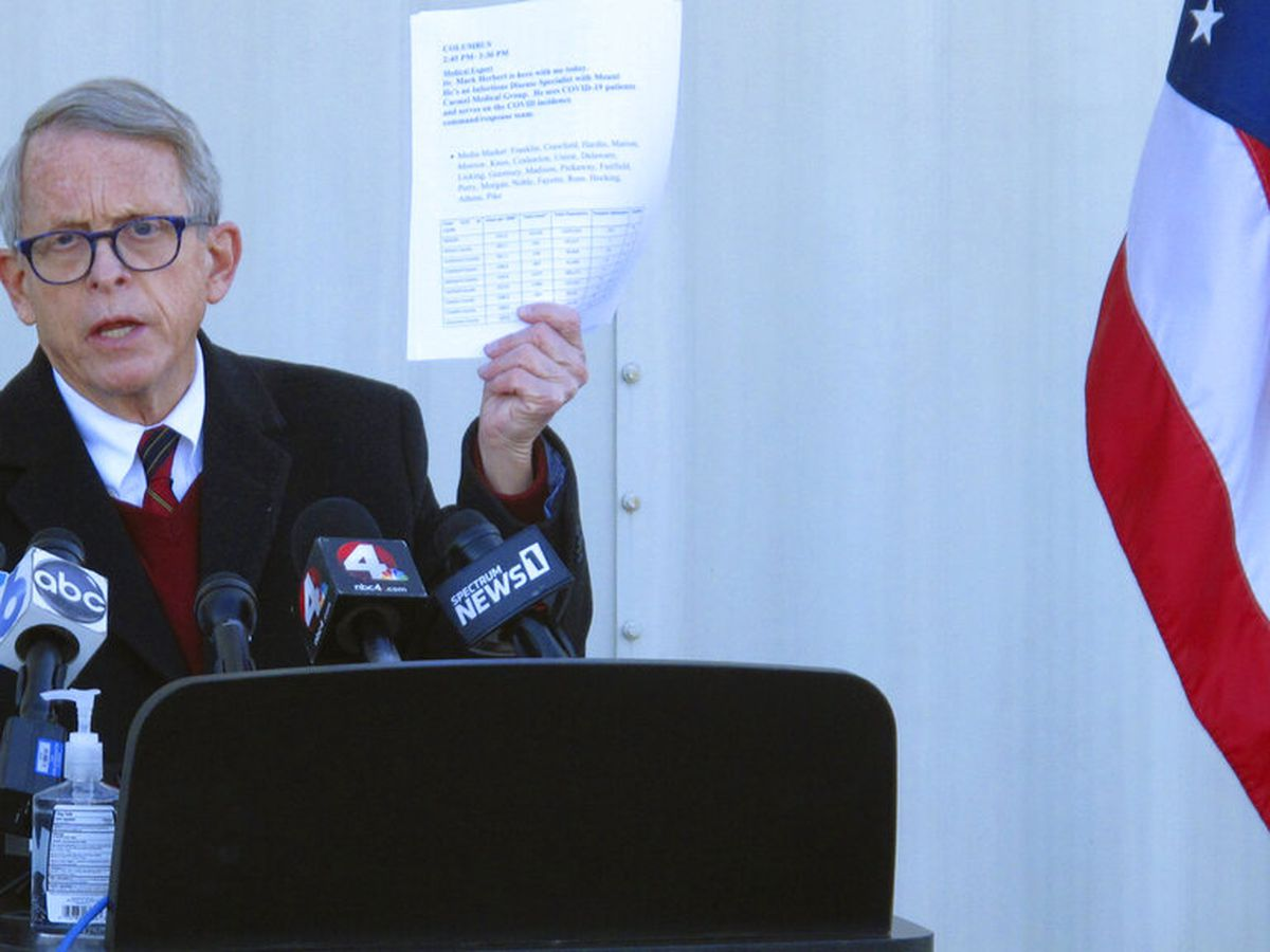 FEMA, Ohio Gov. DeWine announce mass vaccination site at Cleveland State's Wolstein Center