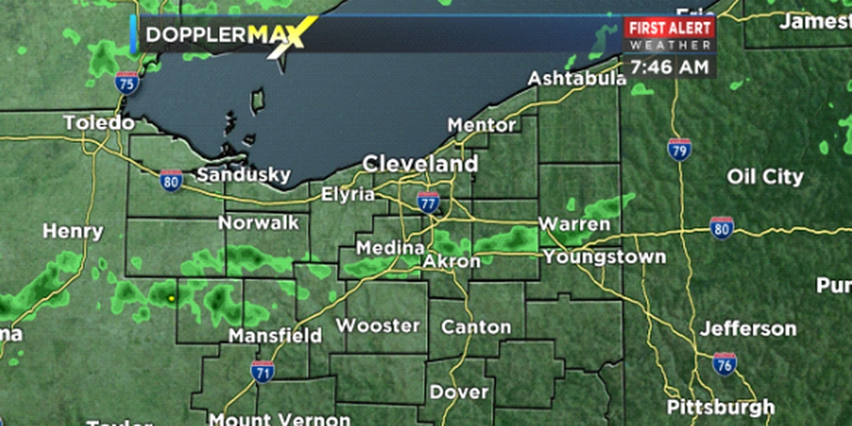 Northeast Ohio Weather: Waves of storms return for Tuesday.