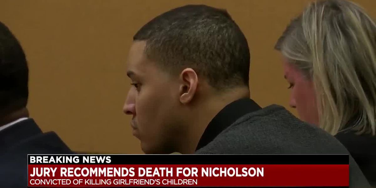 Jury recommends death sentence for man who killed former girlfriend's children in front of her