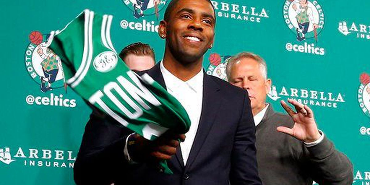 Kyrie Irving getting slammed by social media for 'real sports city' comment