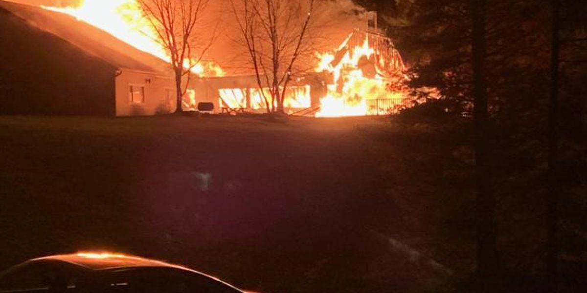 Skyview Ranch Christian Camp burned down in early Sunday morning fire